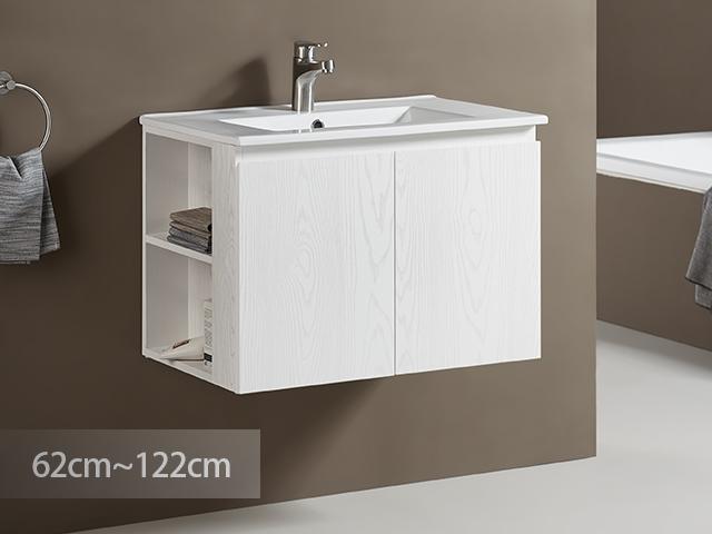 米蘭清清防水浴櫃-PVC貼皮