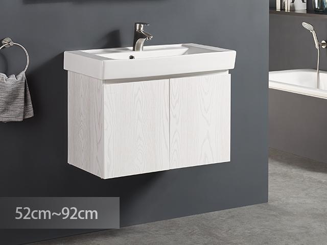 米萊清清防水浴櫃-PVC貼皮