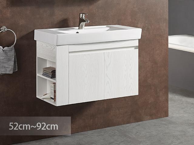 米萊清悟防水浴櫃-PVC貼皮