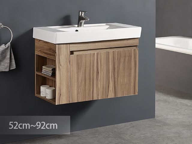 米萊森悟防水浴櫃-PVC貼皮