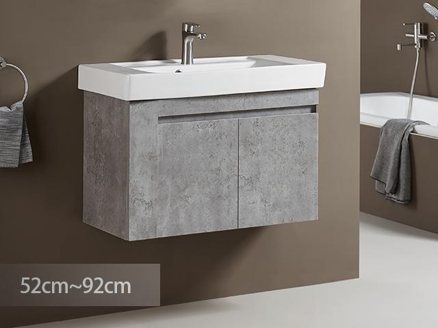 米萊石悟防水浴櫃-PVC貼皮